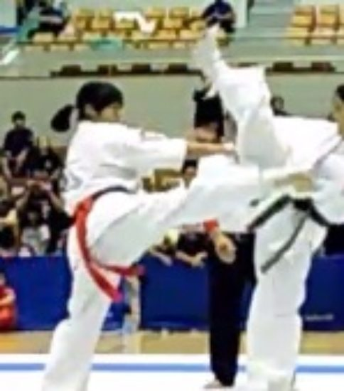 真樹日佐夫2017オープントーナメント女子重量級55キロ優勝 神谷優良(神谷塾・左)