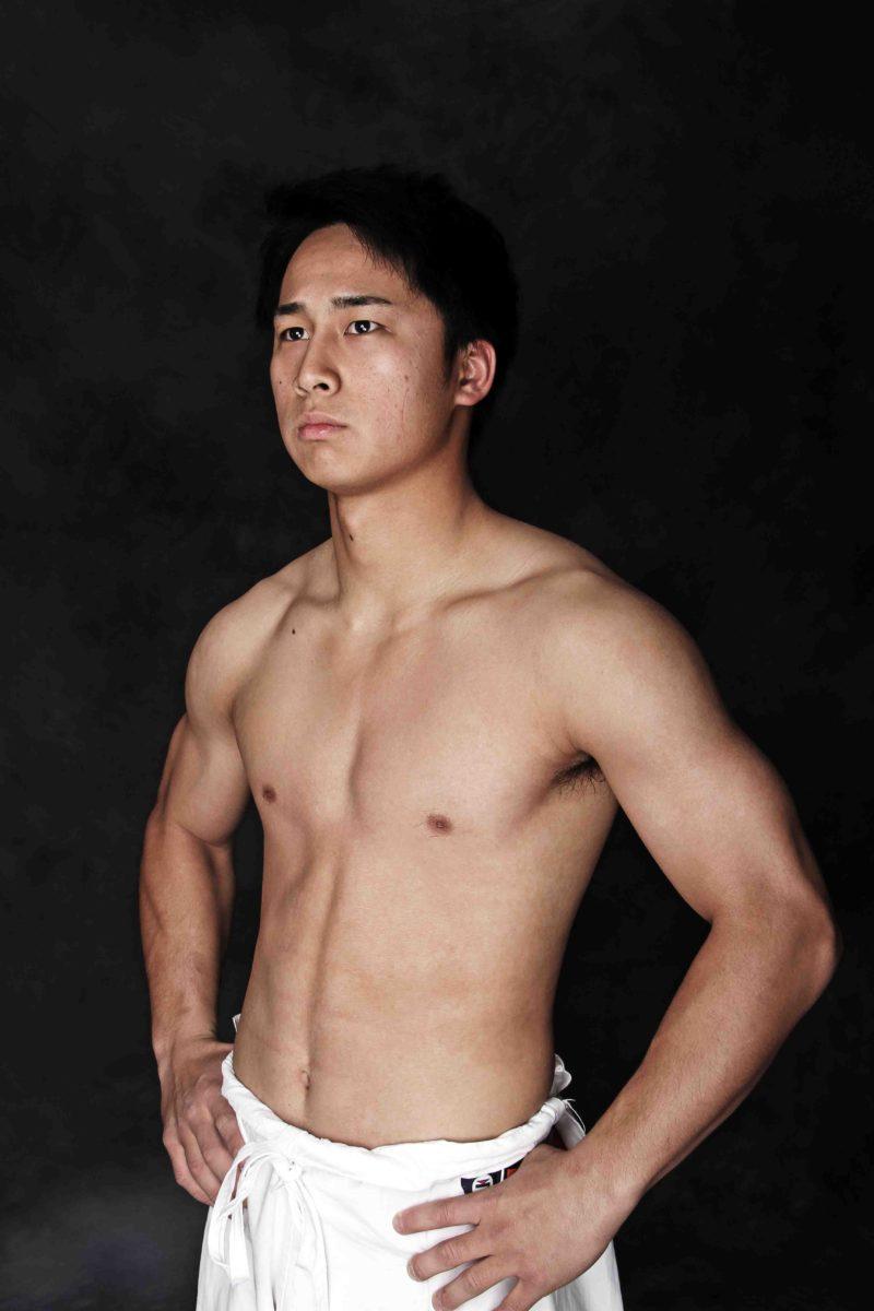 第2回KWF世界大会 (男子-65kg)優勝  大野篤貴(空手道無限勇進会)
