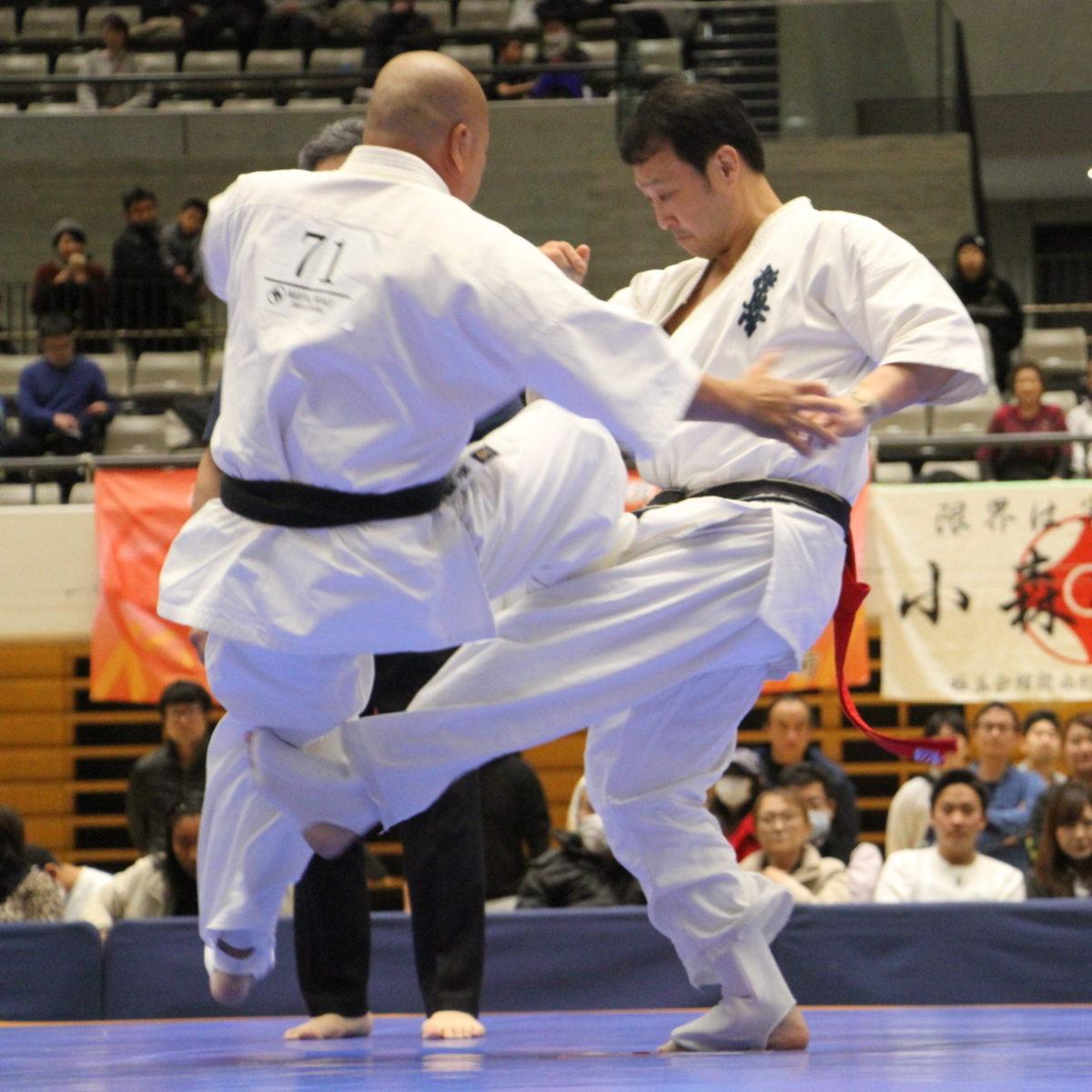 極真連合会 第50回全日本 壮年男女決勝4試合